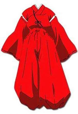 Inu Yasha Robe of Fire Rat Cosplay Costume Anime Cosplay