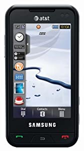 Samsung Eternity a867 Phone, Black (AT&T)