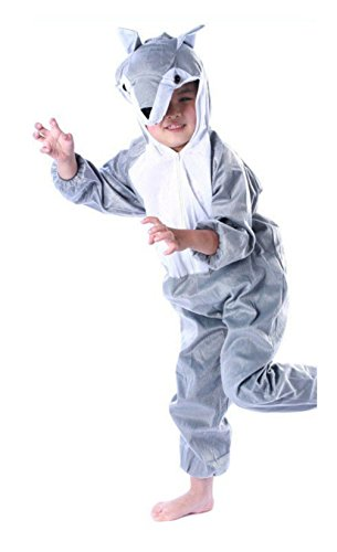 The Wolf Kids Unisex Lovely Children Pajamas Anime Cosplay Costume
