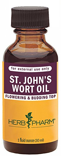 Herb Pharm St. John's Wort Topical Oil - 1 Ounce