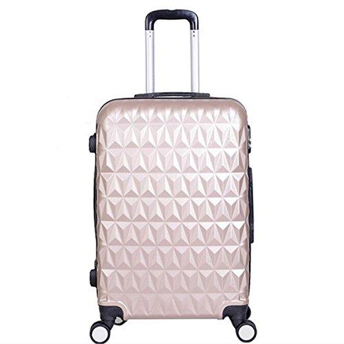 Premium-Diamant-ABS-Gepck-Wagen-universal-Travel-Case-Mnner-und-Frauen-Kabine-Koffer-tuhao-gold-28-inch