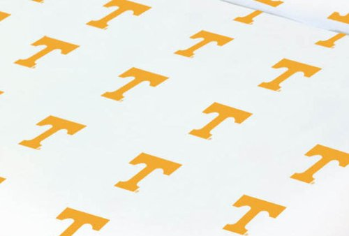 Tennessee Baby Crib Fitted Sheet - White - Tennessee Volunteers front-1001645