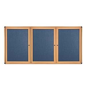 48 X 72 3 Door Ovation Fabric Tackboard