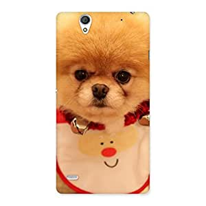 Ajay Enterprises Cutest Pup Back Case Cover for Sony Xperia C4