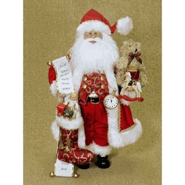 Karen Didion Toy Stocking Santa