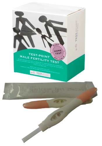 Male and Female Joint Fertility Test - 2 Tests - Tests for the number of Sperm & Sperm Motility