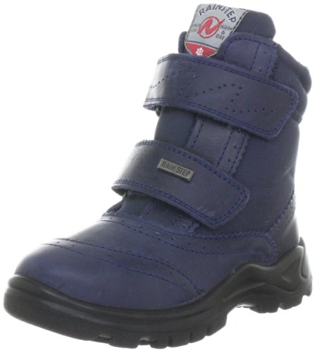 Naturino Villach02 Boots Unisex-Child Blue Blau (BLU) Size: 21