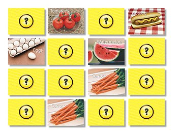 Food Photographic Memory Matching - 1