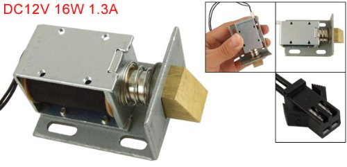 Cr4 thread screw type linear motion stepper motor for 12 volt door latch