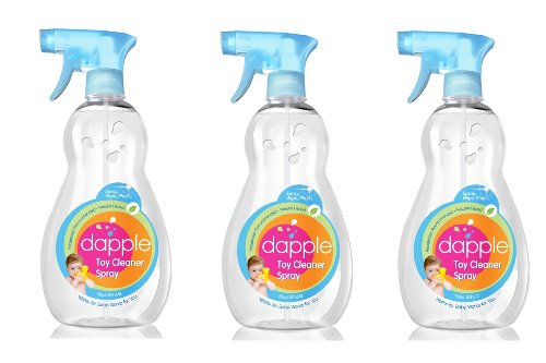 Dapple Natural Based Toy And Surface Cleaner Spray, 16.9-fluid ounces, 3 Pack
