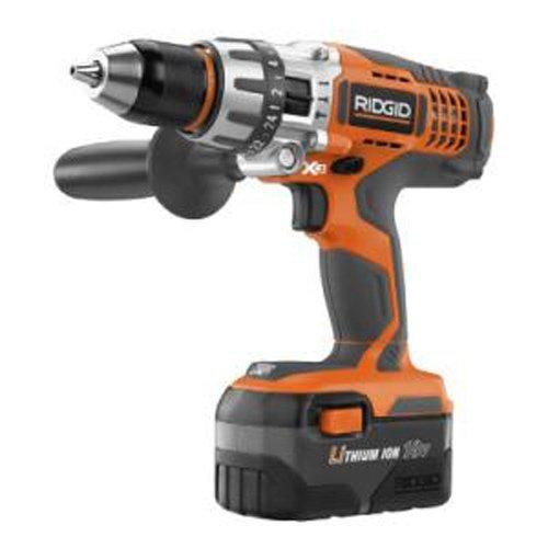 Ridgid ZRR861150 18V Lithium Ion X3 Hammer Drill