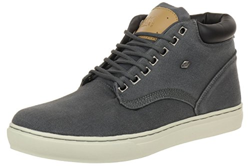 British Knights Wood Low BK men trainer Sneaker B35-3605-01 black, Numero di scarpe:EUR 41;Farben:Darkgrey (Dk. Grey/Black 04)
