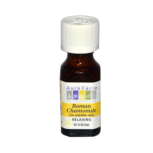 Aura Cacia Roman Chamomile Pure Essential Oil - 0.5 fl oz - HSG-548271