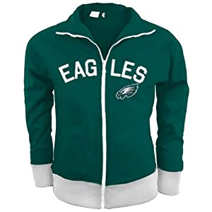 NFL Philadelphia Eagles Ladies Tennis Stretch Track Jacket by