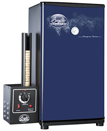 Bradley Technologies Designer Series 4 Rack Original Smoker Stove, Blue (Bradley Smoker Bs611 compare prices)
