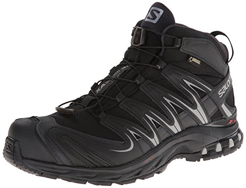 Salomon XA Pro Mid GTX, Scarpe da Trail Running uomo Nero Schwarz (Black/Asphalt/Pewter) 42
