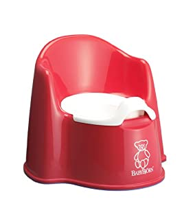 BabyBjorn Potty Chair (Red)