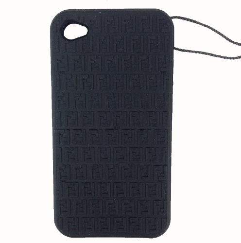Porta iPhone Fendi Uomo Gomma Nero 7AR29700CQ7F0QA1 6x12 cmEU