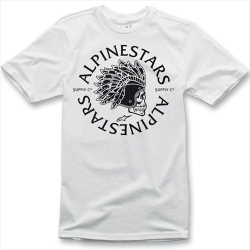 Alpinestars Tomahawk T-Shirt - Small/White