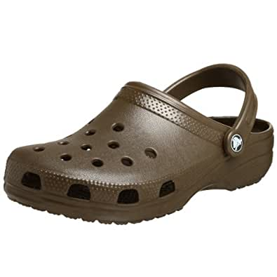 Crocs Classic Clogs, CHOCOLATE, 4M