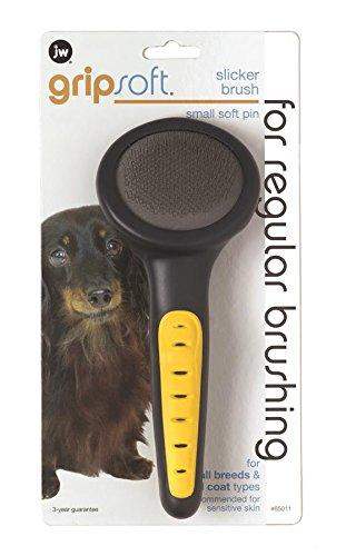 Artikelbild: JW Gripsoft Slicker Grooming Brush for Dogs (Size: Small-Medium)