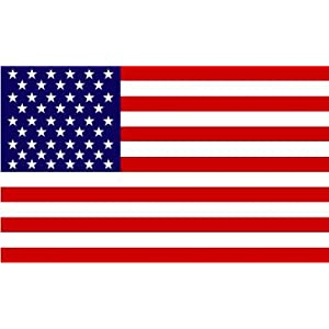 US Flag Bumper Sticker