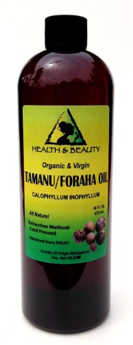 Tamanu / Foraha Oil Organic Pure Cold Pressed 64 Oz front-648722