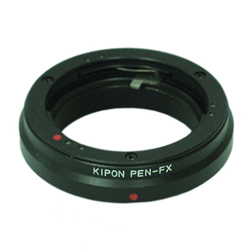 KIPON マウント変換アダプター OLYMPUS PEN Fレンズ-FUJI Xボディ 013328