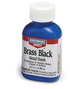 バーチウッド ブラスブラック メタルフィニッシュ 真鍮用ガンブルー液 90ml