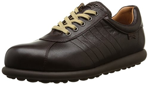 Camper Adults - Pelotas Ariel, Stringate da uomo, marrone (dark brown), 43 EU