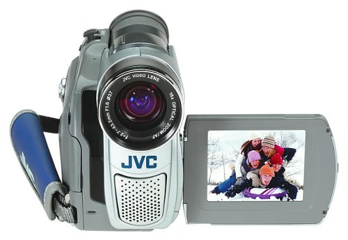 "Jvc Grd70 Minidv Camcorder With 2.5"" Lcd, 16X Optical Zoom And Sd/Mmc Card Slot"