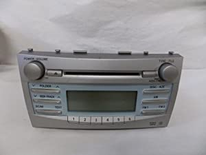 07 09 08 toyota camry radio cd player mp3 wma 2007 2008 2009 290. Black Bedroom Furniture Sets. Home Design Ideas