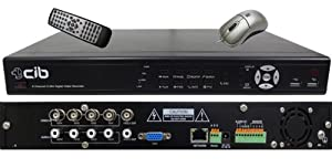 CIB K404AV500G H.264 4 CH Network Security Surveillance DVR Recording System ...