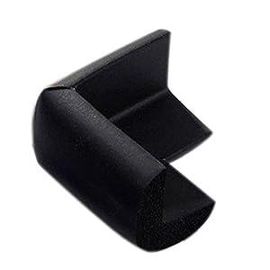 La vogue Protección Borde Esquina De 4 Protecores - S - Negro -5PCS - BebeHogar.com