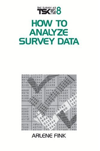 How to Analyze Survey Data (Survey Kit)