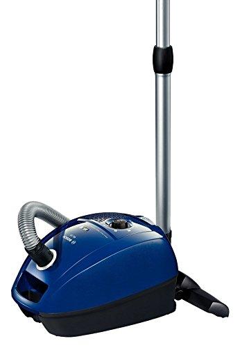 Bosch BGL3A117A GL-30 - Aspirador con bolsa compacto, 600 W, sistema PowerProtect, 5 bolsas de regalo, color azul oscuro