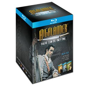 Highlander the Series Season 1-3 Blu-Ray Gift Set w/ Bonus Sword Pen