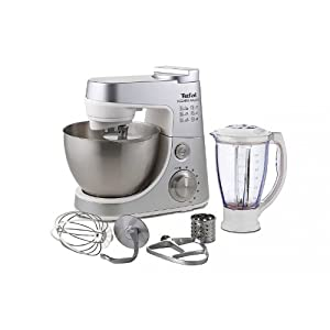 Tefal QB405D40 Kitchen Machine 900W S/S With Blender & Cutter by Tefal