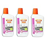 VAX AAA Carpet Machine Shampoo Cleaner Care Formula (3 X 500ml, Low Foam, Woolsafe)