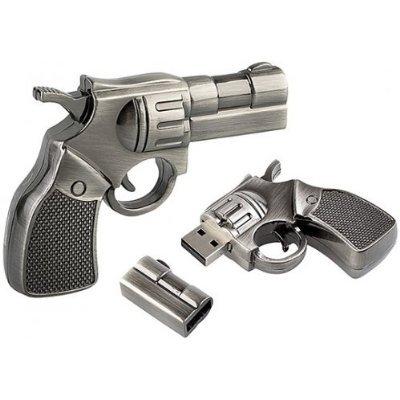 High Quality 8 GB Metal Gun Shape USB Flash Memory Drive from T &  J