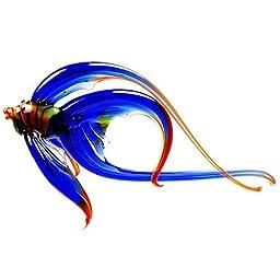 Blown Glass Fish Figurine Homedecor sea glass murano Sculpture Miniature collectible gifts artglass lampwork boro handblown unique artwork
