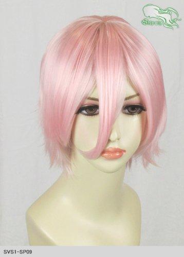 スキップウィッグ 魅せる シャープ 小顔に特化したコスプレアレンジウィッグ マニッシュショート ベビーピンク