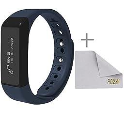 EFOSHM Health Wireless Activity Sleep Monitor Pedometer Smart Fitness Tracker Wristband Watch Bracelet for Men Women Boys Girls Ladies Man Iphone Sumsung HTC (Blue)