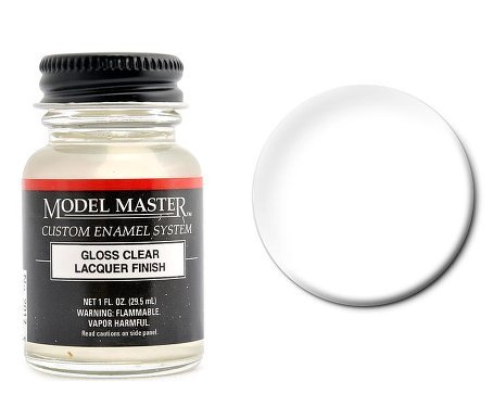 Gloss Clear Model Master Lacquer 1oz Bottle (Model Master Lacquer compare prices)