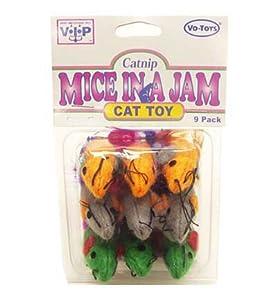 Cat Toys Catnip VO Toys - Votoy Toys catnip felt mice 9pack