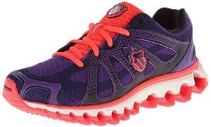 K-Swiss Tubes Run 130 P, Chaussures de fitness femme - Violet (Majestic Purple/Neon Red), 37 EU