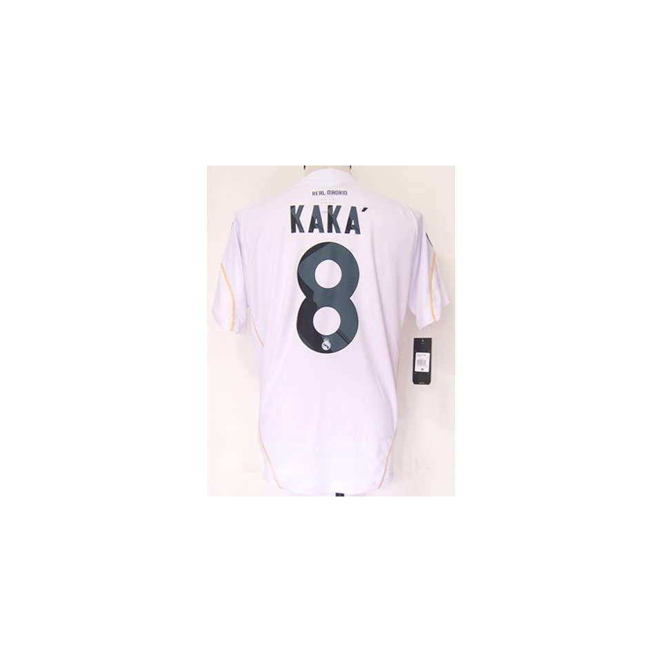Real Madrid home 09 10   8 Kaka size Small soccer jersey on PopScreen be819cd82