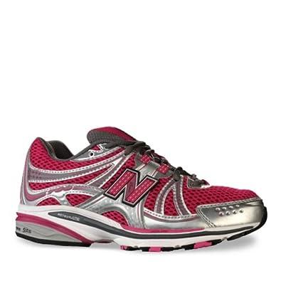 New Balance Women's WR769 Running Shoe (Pink/ Silver) - 9.5 - REG