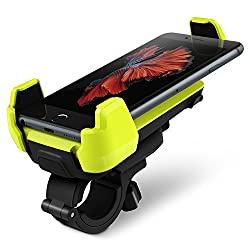 iOttie Active Edge Bike Mount for Apple iPhone 6/5s/5c/4s, Samsung Galaxy S6/S6 Edge/S5/S4 (Electric Lime)