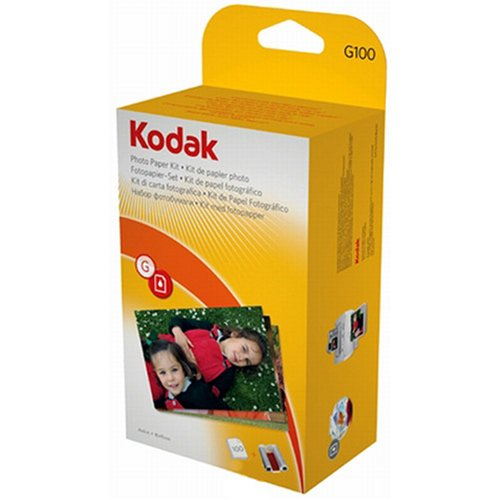 Kodak G100 Photo Paper Kit for G610 Printer Dock - 100 sheet